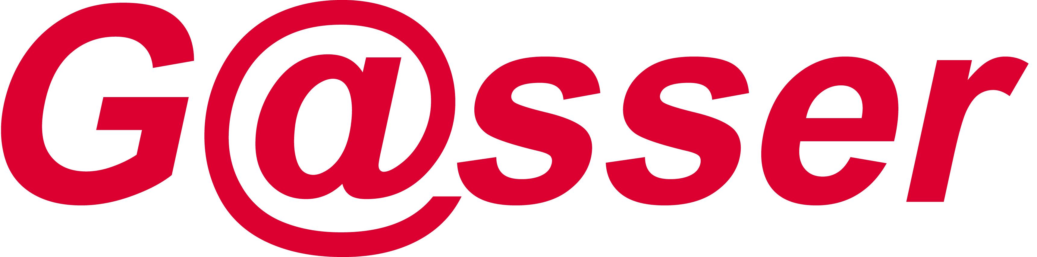 gasser.de-Schrift-rot